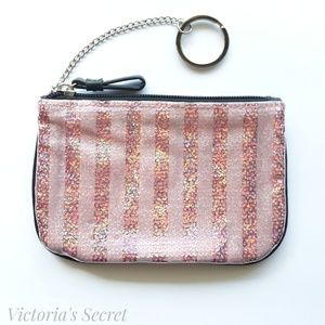 Victoria Secret Pink Sequined Wallet/Coin Purse